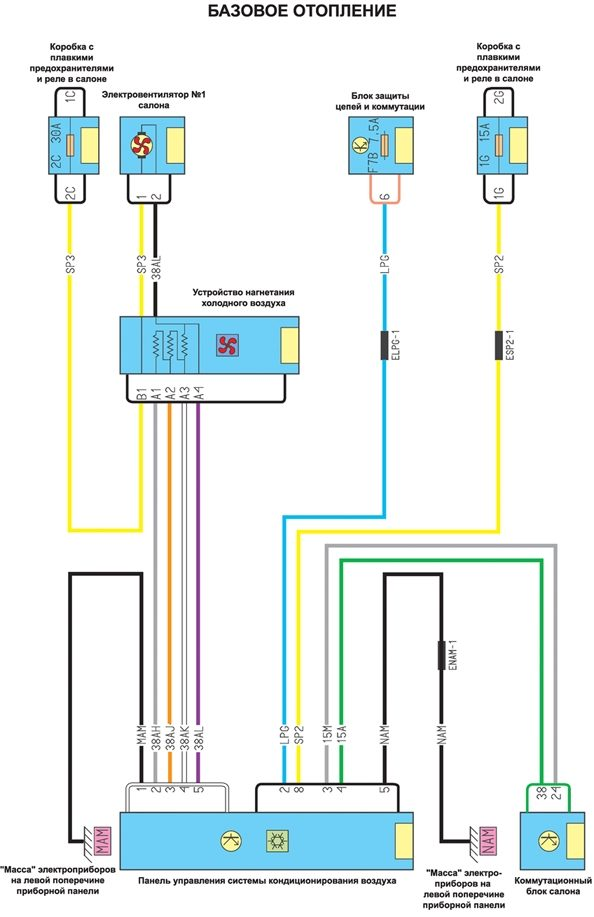 ренаулт кенго электросхема