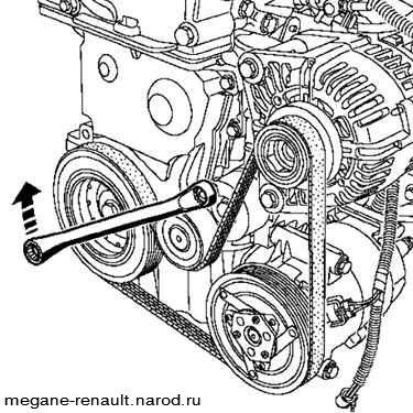 П�иводной �емен� Рено Меган renault megane 2