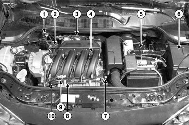 2 с двигателем K4J: 1